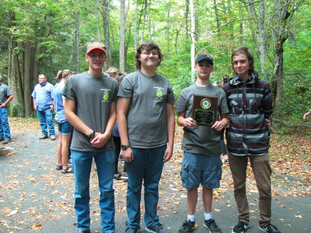 FFA Woodlands team competitors