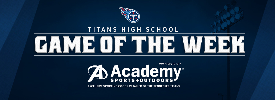 Titans Game of the Week
