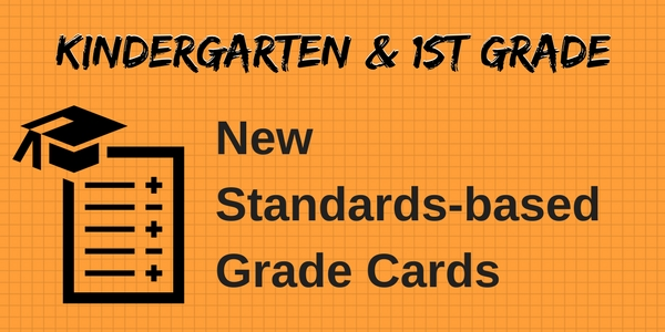 New Standards Based Grade Card Text