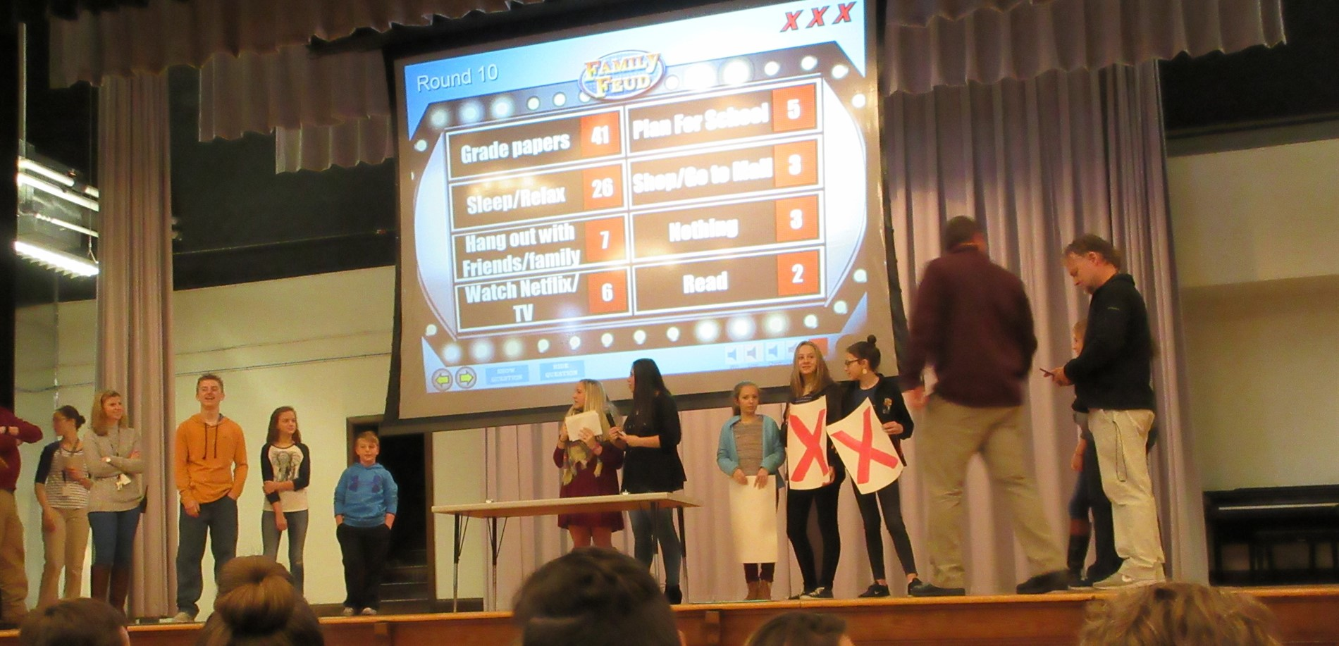 SGA Family Feud supporting Downtown Lighting Fund
