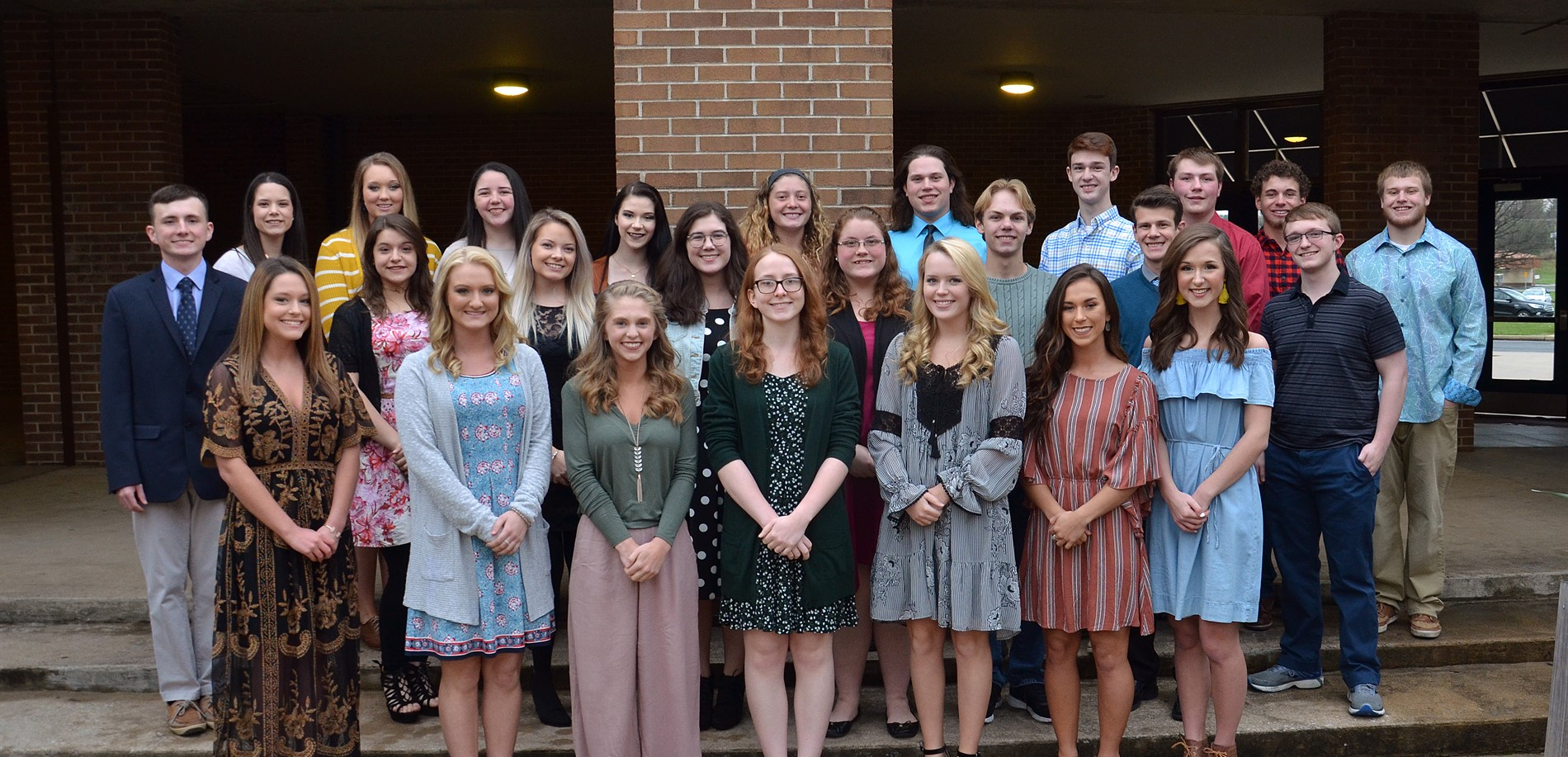 25 students in top ten percent of class of 2018